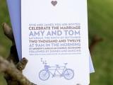 peppermint press trouwkaart voorbeeld