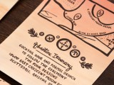 schatkaart trouwkaart voorbeeld