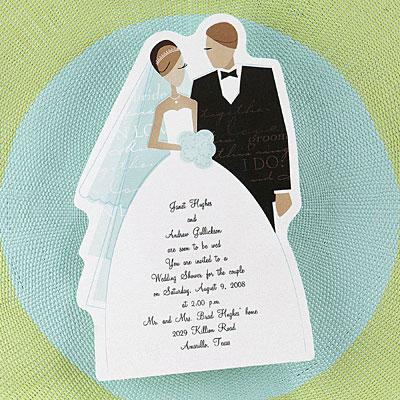 uitgeknipt trouwkaart voorbeeld